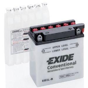 BATTERIE VÉHICULE EB5L-B YB5LB YB5L-B, EXIDE Batterie de démarrage E