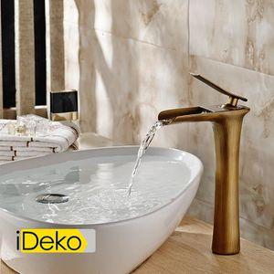 ROBINETTERIE SDB iDeko® Robinet Mitigeur lavabo cascade vasque sall
