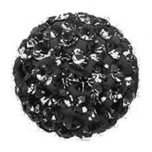 Perles 10 x Perle Noir 8mm