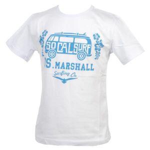 T-SHIRT Tee shirt manches courtes Bus blanc mc tee girl -
