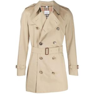 Imperméable - Trench BURBERRY HOMME 8015236 BEIGE COTON TRENCH COAT