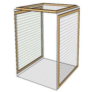 poulailler extension achat vente pas cher. Black Bedroom Furniture Sets. Home Design Ideas