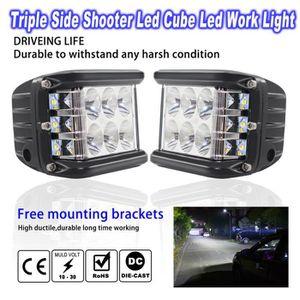PHARES - OPTIQUES Très lumineux !!!2PCS 90W LED - Lampe de Travail -