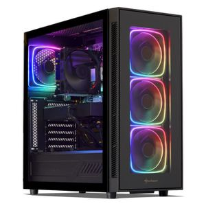 UNITÉ CENTRALE  PC Gamer, Intel i7, GTX 1050, 480 Go SSD, 2 To HDD