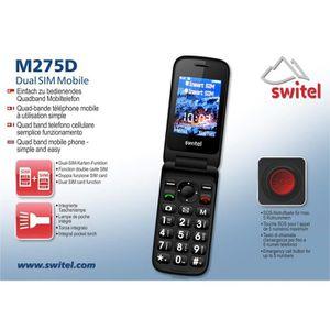Téléphone portable Téléphone pour senior SwiteL M275D