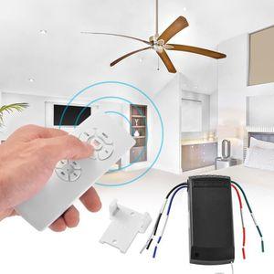 CAPTEUR DE MOUVEMENT Kit universel de ventilateur plafond Télécommande