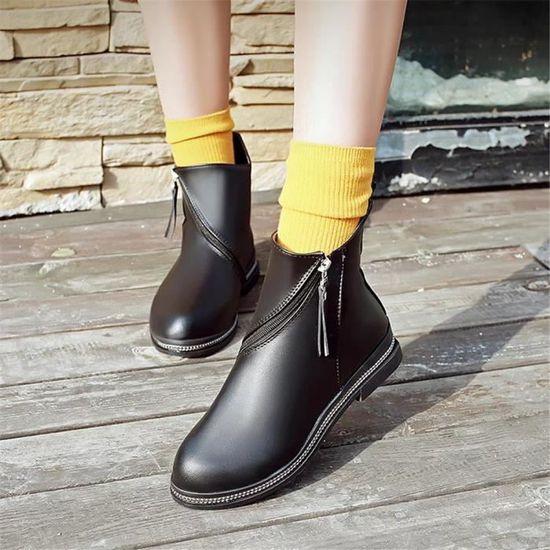 Chaussure Décontractées Respirant Nouvelle 35 40 Qualité Bottines Femmes Haut Durable vqHppw