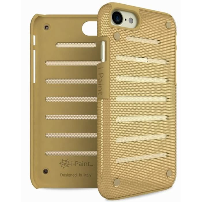I-PAINT Coque pour iPhone 7 - Or