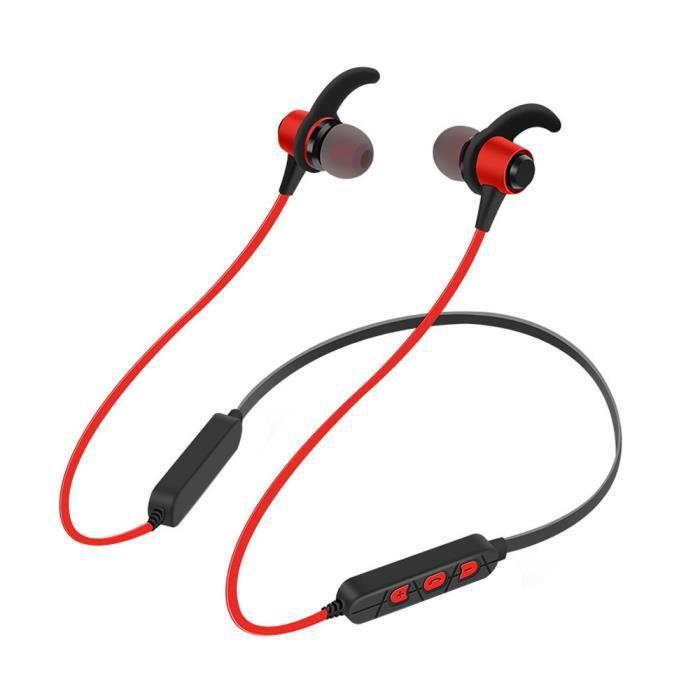 Casque Bluetooth Écouteurs Sans Fil Sport Neckband Avec Micro Em11767