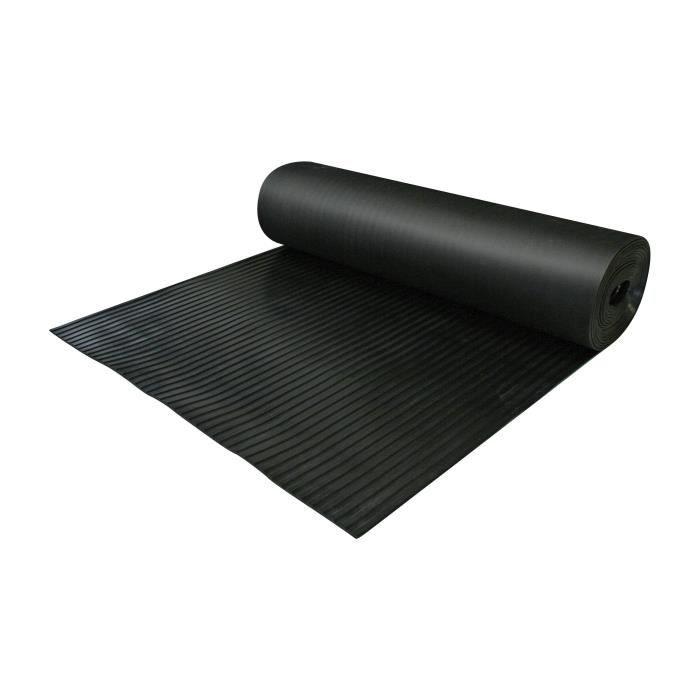 rouleau caoutchouc cannele 1x10m achat vente paillasson black friday cdiscount. Black Bedroom Furniture Sets. Home Design Ideas