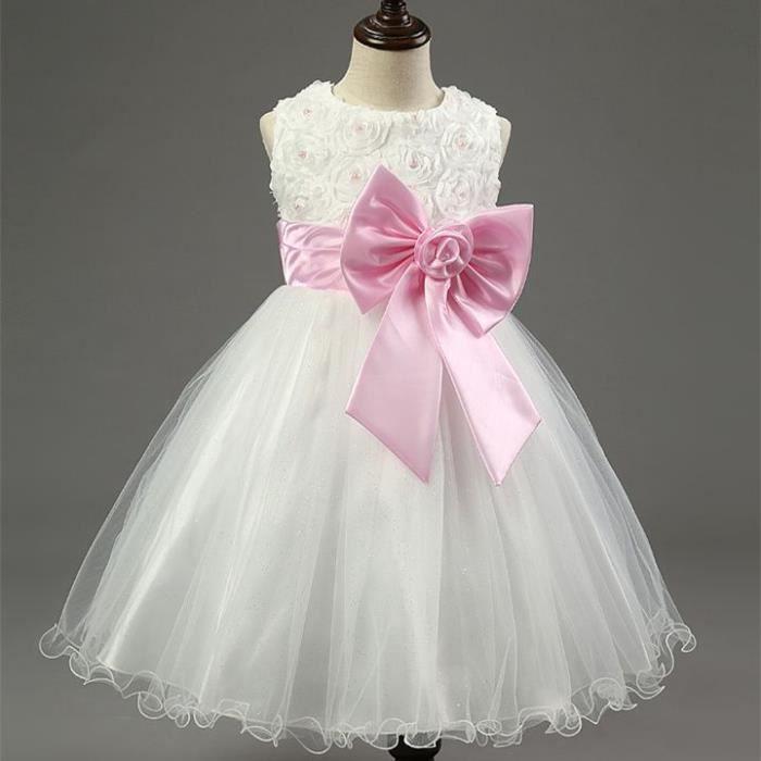 robe de demoiselle d honneur enfant achat vente pas cher. Black Bedroom Furniture Sets. Home Design Ideas