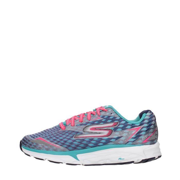 SKECHERS Sneakers Femme CHARCOAL/PURPLE, 38