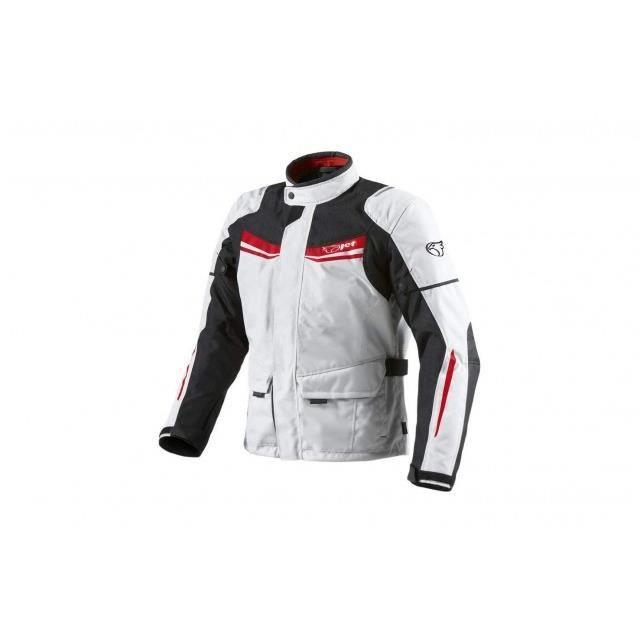 5cd17c5df38 JET Blouson Veste Moto Homme Imperméable Avec Armure Textile Aquatex ...