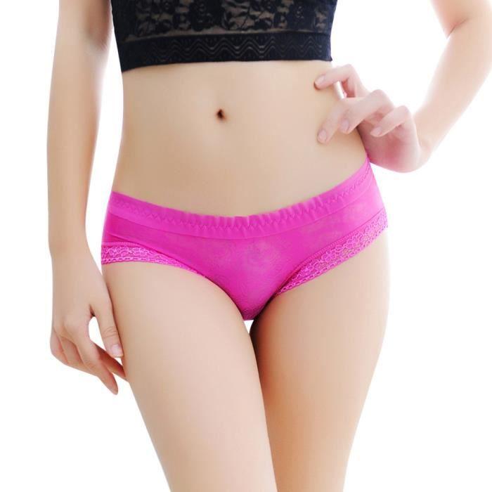 Sous vêtements Thongs Slip Multicolore Lingerie string Femmes En G Culotte Dentelle W8gO7q600