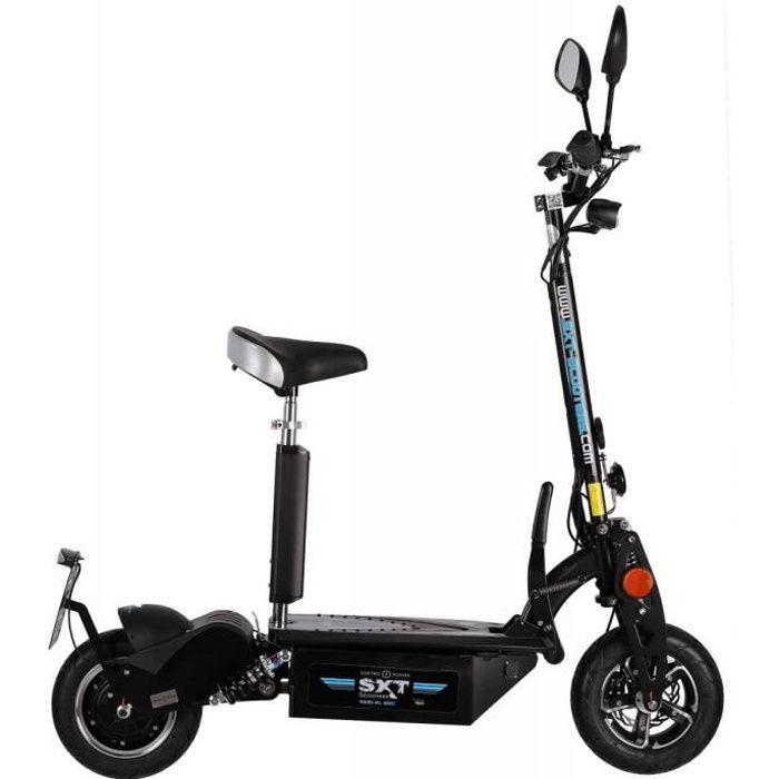Trottinette électrique SXT Scooters 1000 XL EEC Facelift Homologuée Route  Noire Batterie Plomb 48V 12 Ah e053254fcd81
