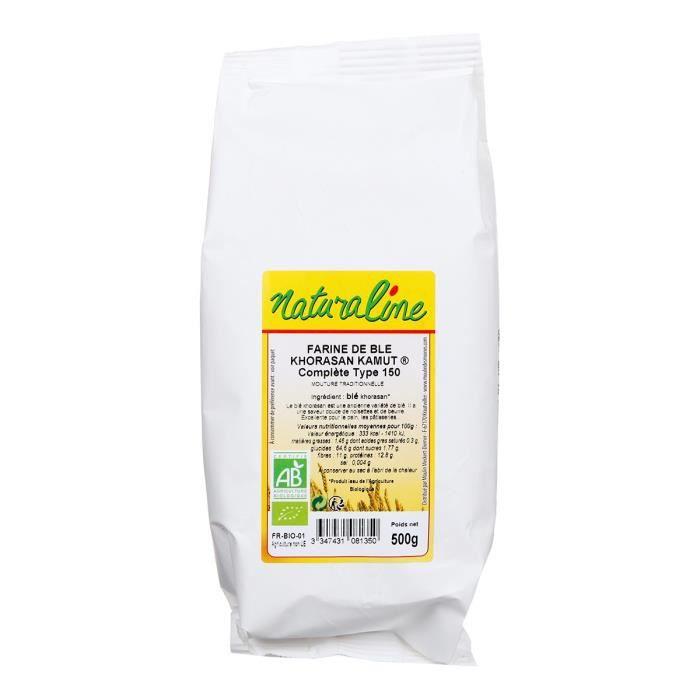 FARINE - FÉCULE MOULIN DES MOINES Farine de khorasan - 500 g