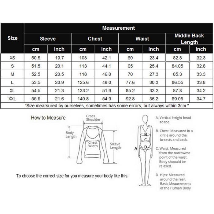 Chemise manches longues pour femmes sans manches