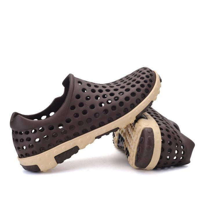 Bout rond étanche Mocassins Chaussures de randonnée pour hommes