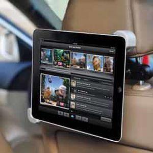 FIXATION - SUPPORT Support voiture appuie-tête tablette 7 à 8 pouces