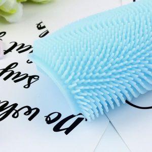 ÉPONGE VAISSELLE exquisgift®2pcs Nettoyeur éponge à vaisselle en si