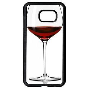 coque verre de vin samsung s6 edge