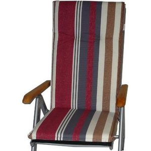 Coussin fauteuil jardin dossier haut Achat Vente pas cher