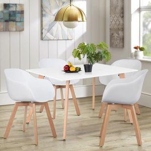 TABLE À MANGER SEULE Table à Manger Rectangulaire de 4 à 6 Personnes -