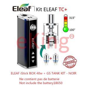 CIGARETTE ÉLECTRONIQUE Cigarettes électroniques Kit ELEAF TC 40w GS Tank
