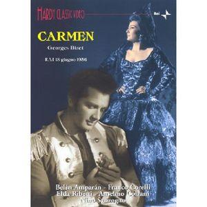 DVD MUSICAL CARMEN (Chanté en italien) / Georges BIZET / (1 DV