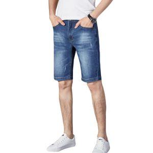 Homme Bermuda BERMUDA Décont Style Grand Taille Short Jean qtnwnxBg