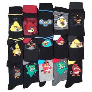 CHAUSSETTES Chaussettes homme Angry Birds Pack de 9 en coton m