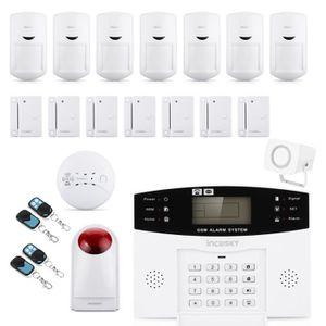 KIT ALARME Incosky Kit alarme Maison 2.5'' LCD Sans Fil Alarm