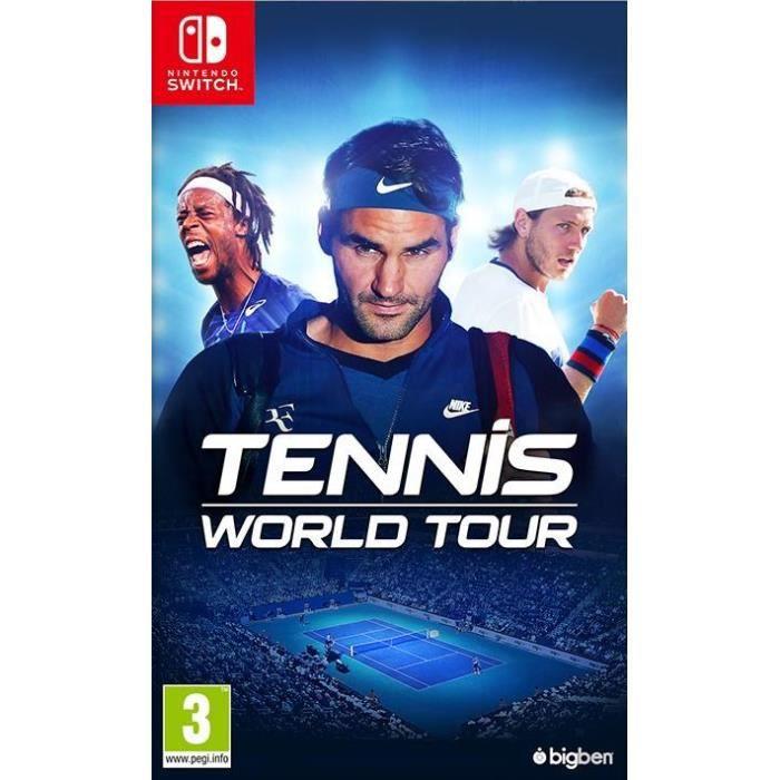 Tennis World Tour jeu Switch