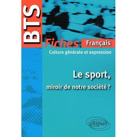 Bts Fiches Francais Culture Generale Et Expressio