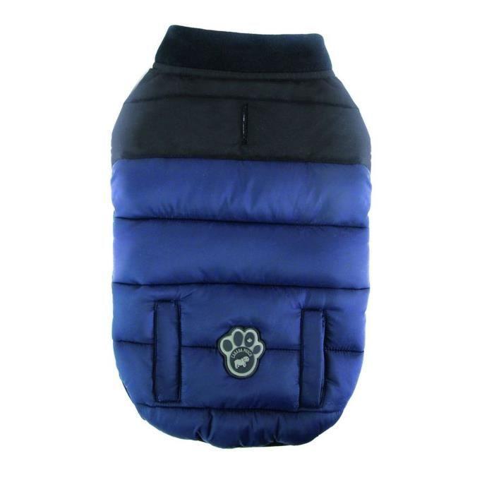 CANADA POOCH Manteau Summit Stretch 16 - 8/11kg - Bleu - Pour chien