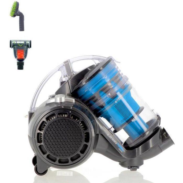 EZIclean® Turbo Eco-pets, Aspirateur sans sac multi cyclonique spécial animaux de compagnie