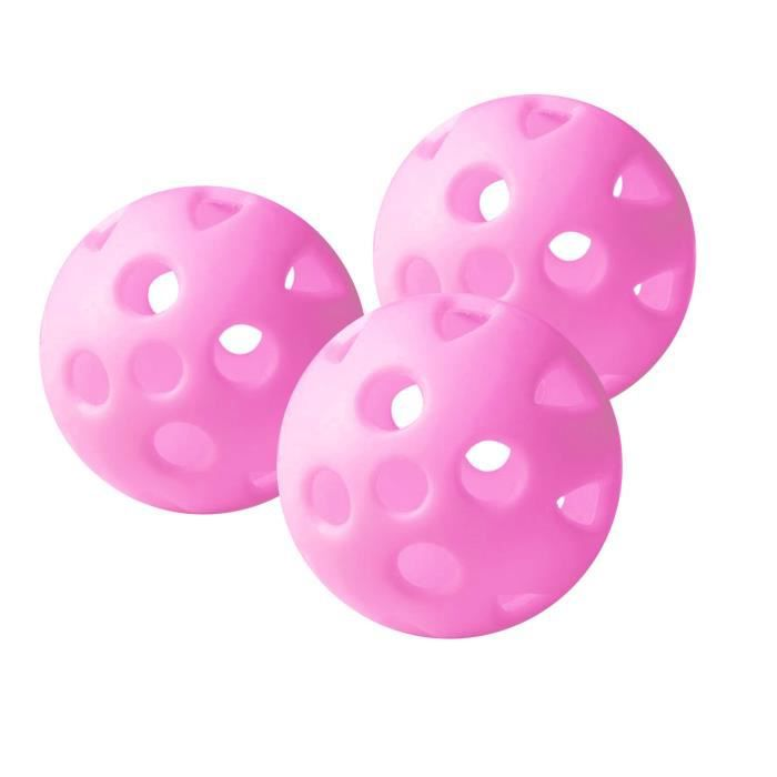 PGA TOUR Lot de 24 Balles de Golf d'Entraînement - Rose