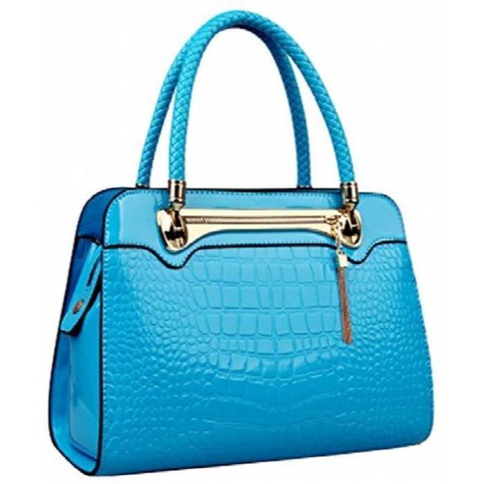 Pu Marque fonctionnelle en cuir fourre-tout nouveau style sac à main de mode pour femmes ZIV04