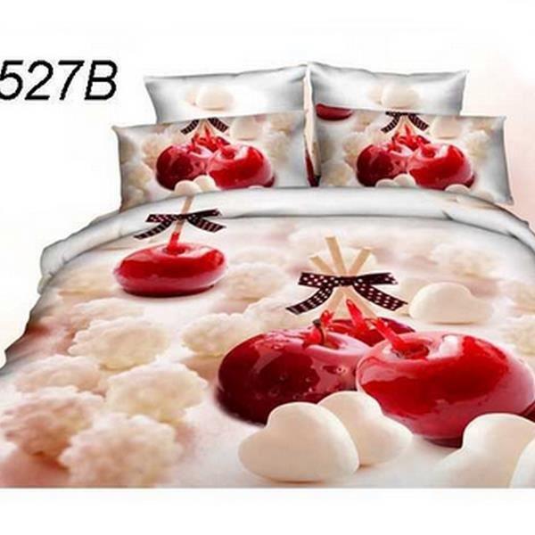parure de lit 3d achat vente parure de drap soldes d s le 10 janvier cdiscount. Black Bedroom Furniture Sets. Home Design Ideas