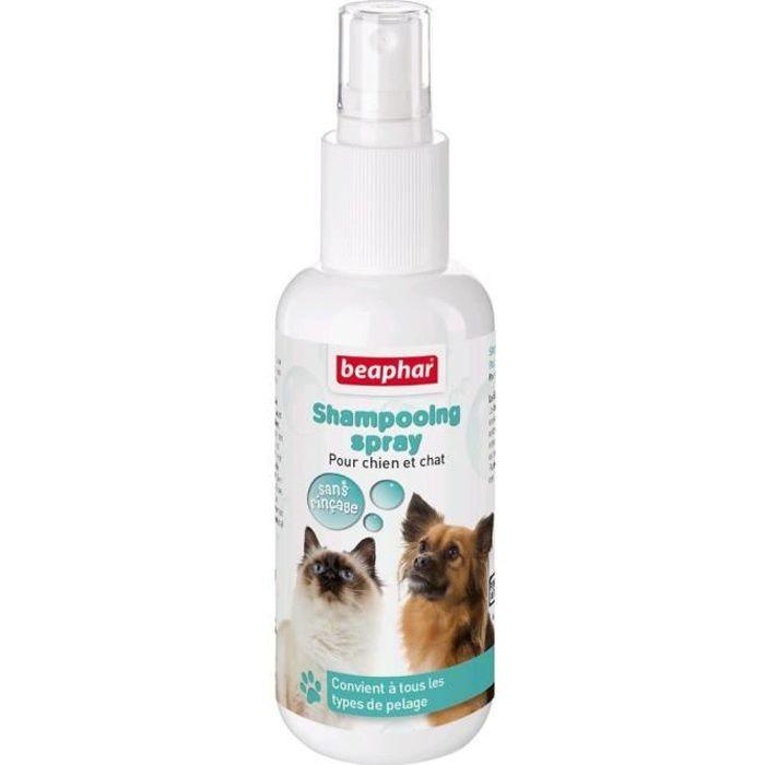 Beaphar Shampooing Spray Sans Rinçage - Pour Chien Et Chat 150ml