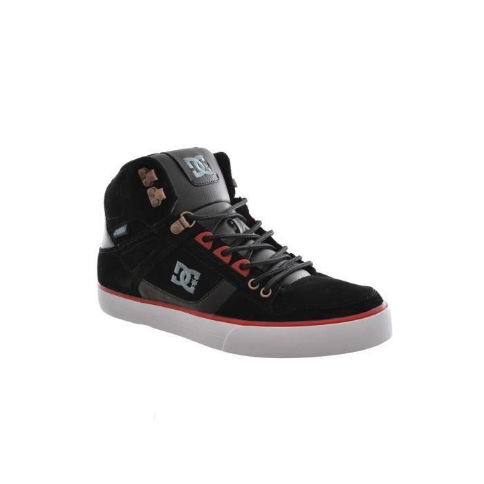 baskets mode dc shoes spartan high wc m shoe noir