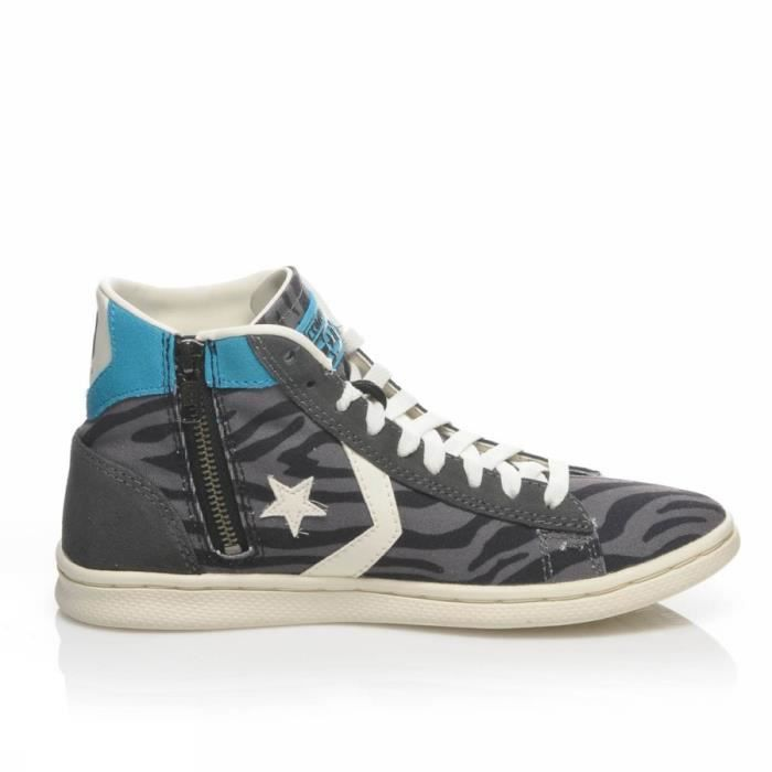 CONVERSE PRO LEATHER LP MID CAN ZIP PRI 143747C MODA HOMME