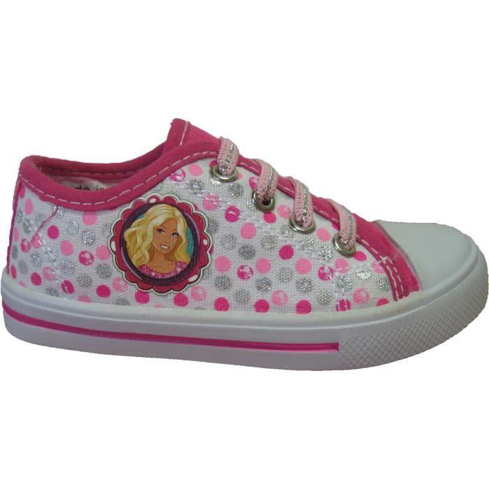 Baskets en toile Barbie pour filles