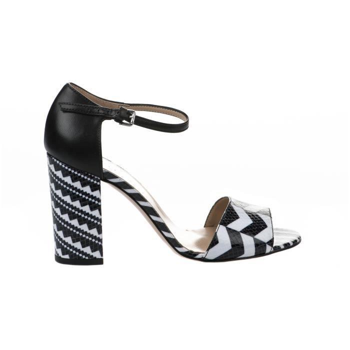 Nu pieds femme - STYME - Noir - 436450 - Millim
