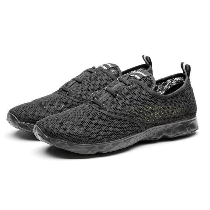 Chaussure Homme Été Qualité Supérieure Nouveau Classique Maille Respirant Athletic Léger Confortable Taille 46
