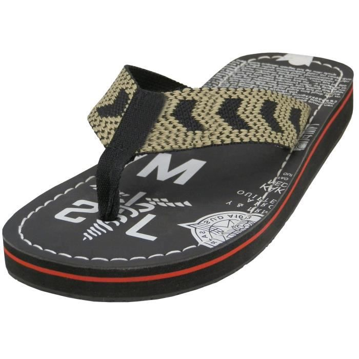 Thong Slippers Sandals Sport Printed Flip Flops - 3 Colors Sizes 7 - 13 P9RS9 Taille-43