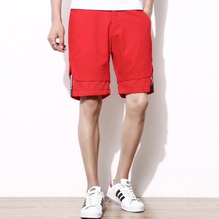 Type short Taill PANTALON droit sport Été Homme Pantalon de x1xI4R