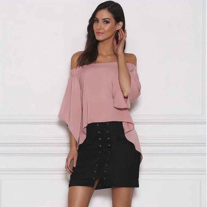 026b02dac7ffba Femmes Bandage Suede Tissu Mini-jupe mince sans couture extensible serré  jupe courte Noir