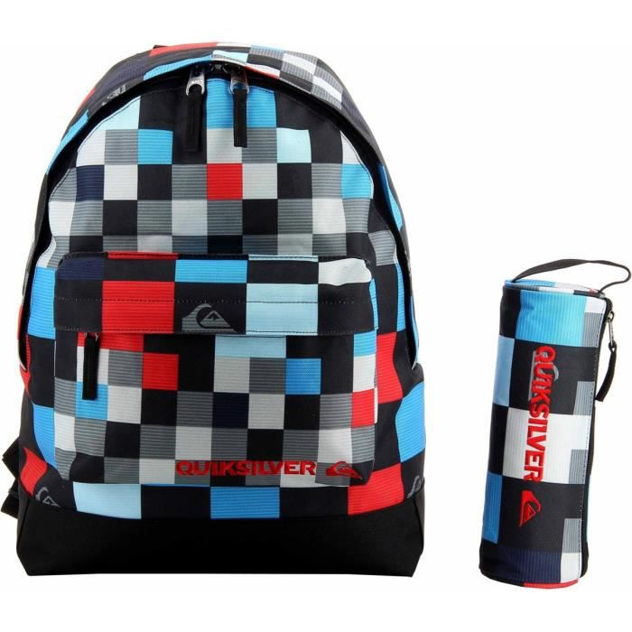 sac dos scolaire quiksilver bleu achat vente sac dos 0888256369139 cdiscount. Black Bedroom Furniture Sets. Home Design Ideas