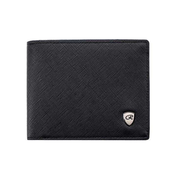Pilerty®mode Solide Croix Position Homme ljj80525874bk Card Motif Ouvert Wallet Multi Couleur qHqAxOwr